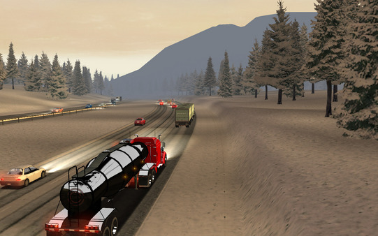 скриншот 18 Wheels of Steel: American Long Haul 1