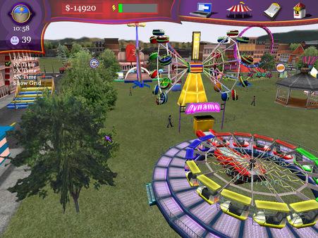 Скриншот из Ride! Carnival Tycoon