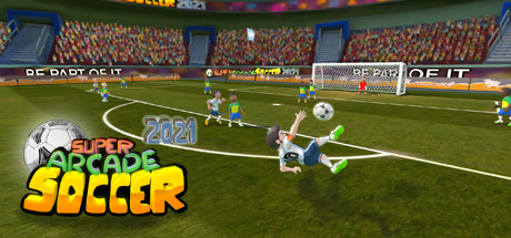 Super Arcade Soccer 2021 cover art