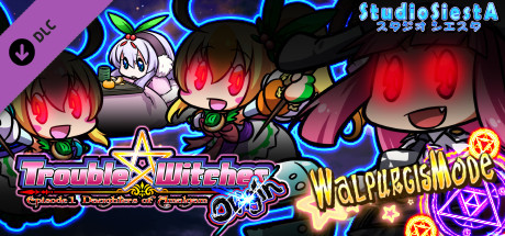 Trouble Witches Origin,additional Game Walpurgis Edition