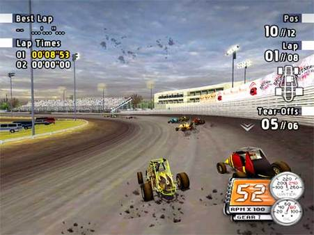 скриншот Sprint Cars Road to Knoxville 0