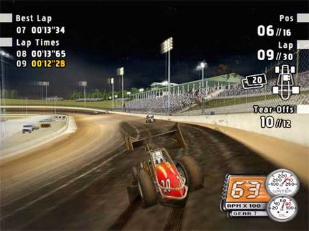 скриншот Sprint Cars Road to Knoxville 1