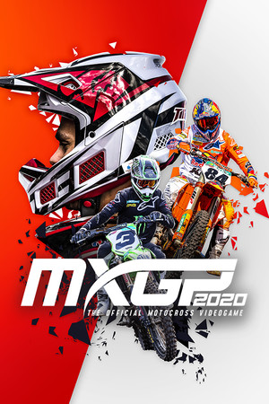 MXGP 2020 - The Official Motocross Videogame poster image on Steam Backlog