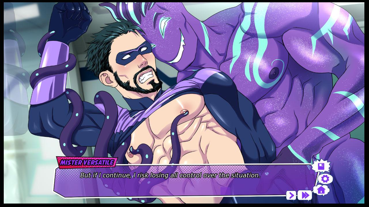 Mister Versatile: A Gay Superhero Visual Novel