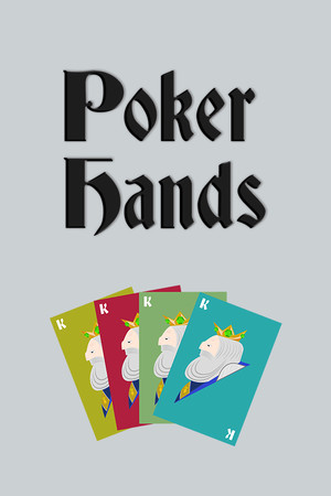 Poker Hands poster image on Steam Backlog