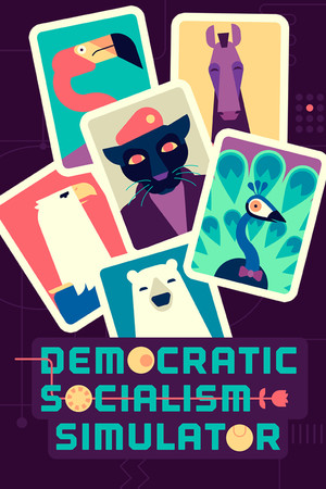 Democratic Socialism Simulator poster image on Steam Backlog