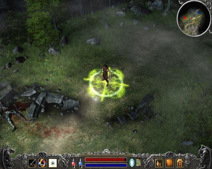 скриншот Legend: Hand of God 1