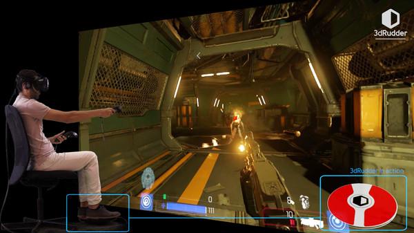 Скриншот из 3dRudder Driver for SteamVR