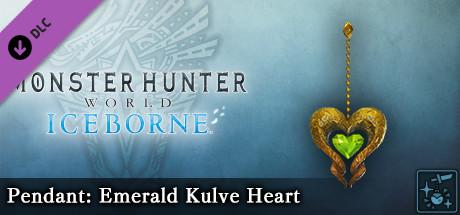 Monster Hunter World: Iceborne - Pendant: Emerald Kulve Heart