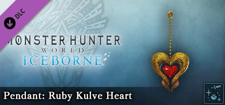 Monster Hunter World: Iceborne - Pendant: Ruby Kulve Heart