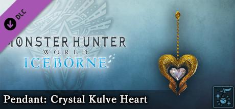Monster Hunter World: Iceborne - Pendant: Crystal Kulve Heart
