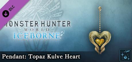 Monster Hunter World: Iceborne - Pendant: Topaz Kulve Heart