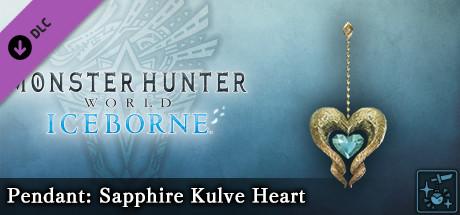 Monster Hunter World: Iceborne - Pendant: Sapphire Kulve Heart
