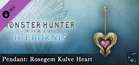 Monster Hunter World: Iceborne - Pendant: Rosegem Kulve Heart