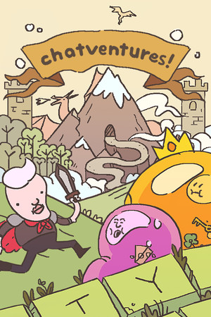 Chatventures poster image on Steam Backlog