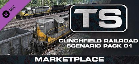 TS Marketplace: Clinchfield Railroad Scenario Pack 01