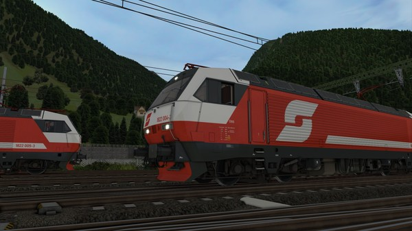 скриншот Train Simulator: ÖBB 1822 Loco Add-On 3