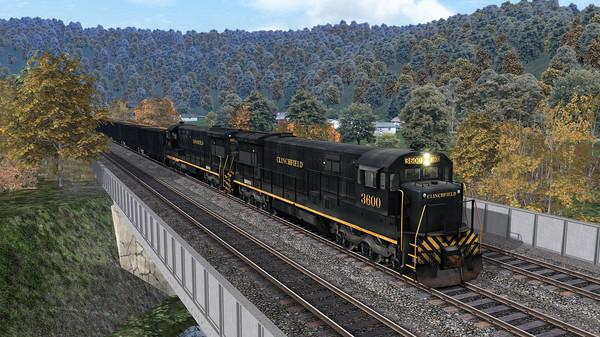 скриншот Train Simulator: Clinchfield Railroad U36C Loco Add-On 4