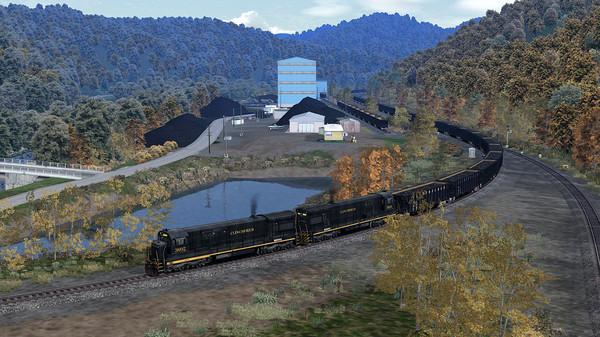 скриншот Train Simulator: Clinchfield Railroad U36C Loco Add-On 0