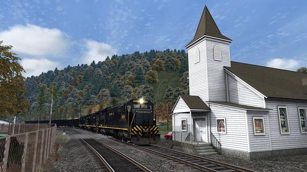 скриншот Train Simulator: Clinchfield Railroad U36C Loco Add-On 1