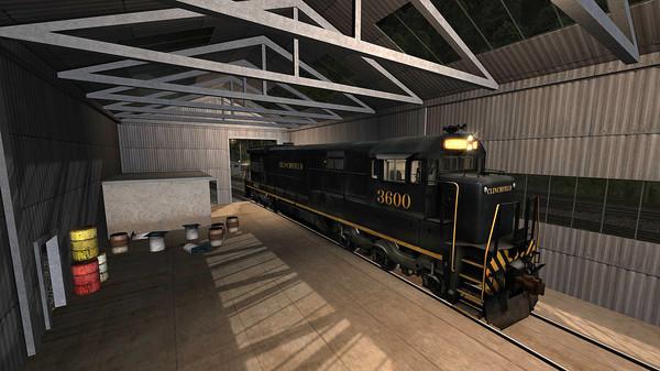 скриншот Train Simulator: Clinchfield Railroad U36C Loco Add-On 5