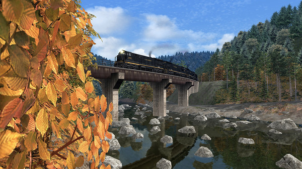 скриншот Train Simulator: Clinchfield Railroad U36C Loco Add-On 2