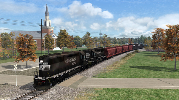 скриншот Train Simulator: Norfolk Southern GP50HH Loco Add-On 0