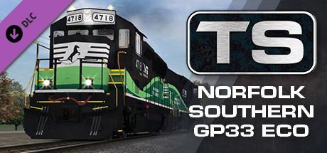 Train Simulator: Norfolk Southern GP33 ECO Loco Add-On