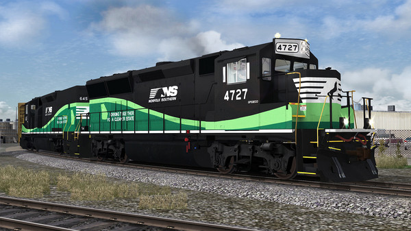 скриншот Train Simulator: Norfolk Southern GP33 ECO Loco Add-On 4