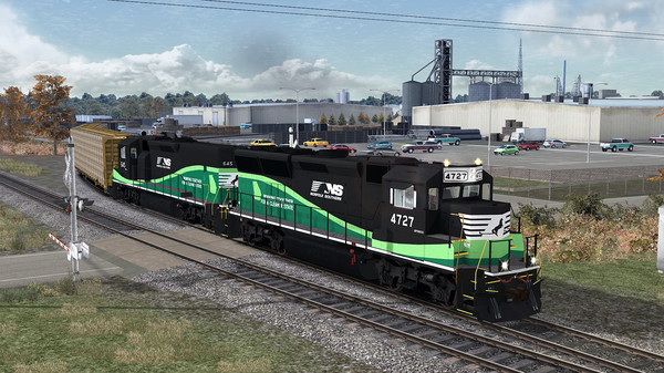 скриншот Train Simulator: Norfolk Southern GP33 ECO Loco Add-On 0