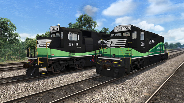 скриншот Train Simulator: Norfolk Southern GP33 ECO Loco Add-On 5