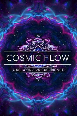 Cosmic Flow: A Relaxing VR Experience poster image on Steam Backlog
