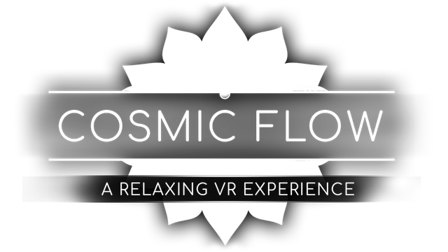 Cosmic Flow: A Relaxing VR Experience logo