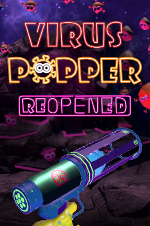 Virus Popper poster image on Steam Backlog