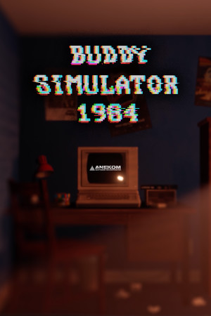 Buddy Simulator 1984 poster image on Steam Backlog