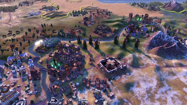Скриншот №10 к Sid Meiers Civilization VI - Ethiopia Pack