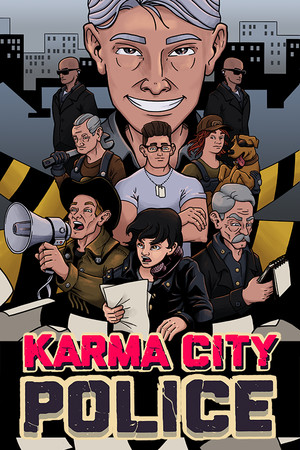 Karma City Police poster image on Steam Backlog