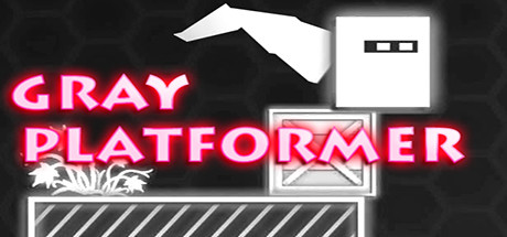 Gray platformer cover art