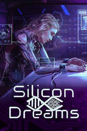 Silicon Dreams | cyberpunk interrogation poster image on Steam Backlog
