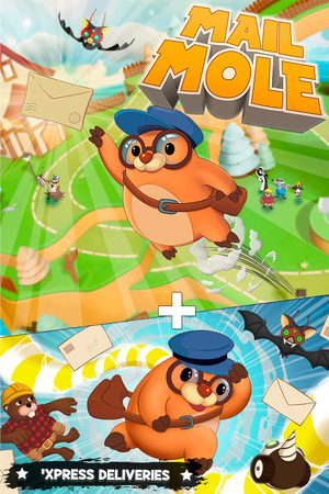 Mail Mole poster image on Steam Backlog