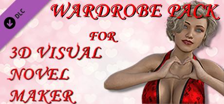 Wardrobe pack for 3D Visual Novel Maker