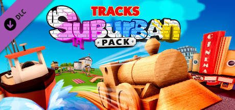 Tracks  The Train Set Game Suburban Pack Capa