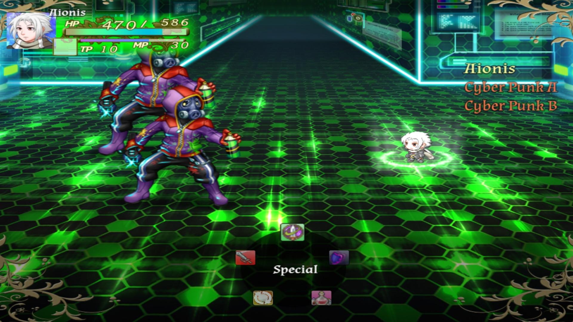 Solenars Edge II: Aurora of The Seventh Dawn screenshot