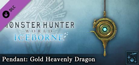 Monster Hunter World: Iceborne - Pendant: Gold Heavenly Dragon