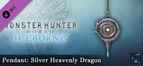 Monster Hunter World: Iceborne - Pendant: Silver Heavenly Dragon