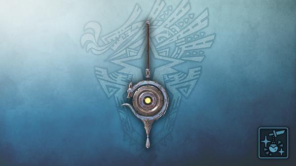 Скриншот №1 к Monster Hunter World: Iceborne - Кулон: серебряный небесный дракон