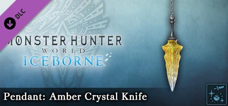 Monster Hunter World: Iceborne - Pendant: Amber Crystal Knife