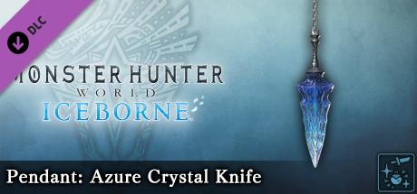 Monster Hunter World: Iceborne - Pendant: Azure Crystal Knife