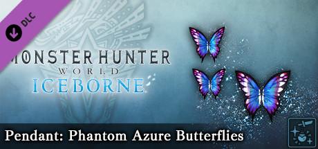 Monster Hunter World: Iceborne - Pendant: Phantom Azure Butterflies