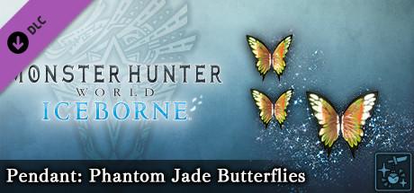 Monster Hunter World: Iceborne – Кулон: призрачные нефритовые бабочки